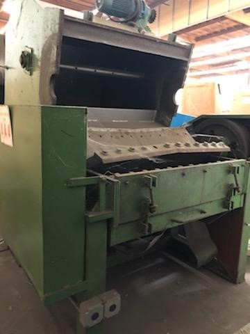 Used 100 HP Grinder with Infeed and Discharge Conveyors 1 Used 100 HP Grinder