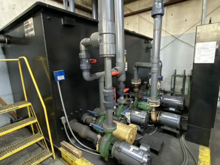 Used Pump Skid for Cooling Towers 1 Used Pump Skid for Cooling Towers
