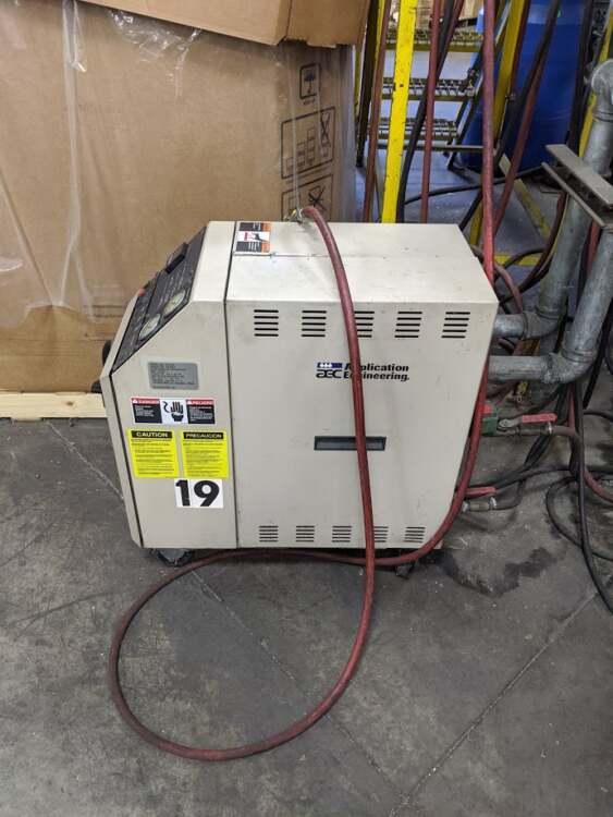 Used AEC TCU-100 Water Heater 2 Used AEC TCU-100 Water Heater