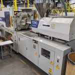 used 150 ton toyo tm-150g2 injection molding machine