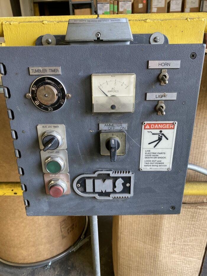 Used 1994 IMS TR-1500 Dual Drum Tumbler 1 Used 1994 IMS TR-1500 Dual Drum