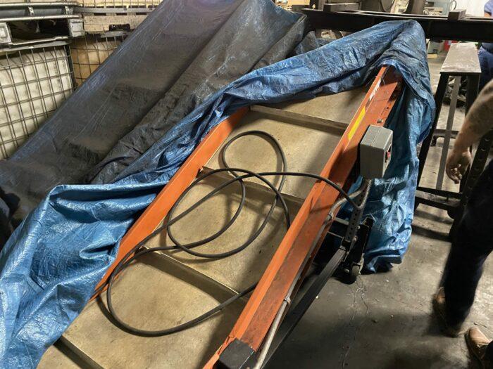 used emi kki-24-6-6-40 conveyor