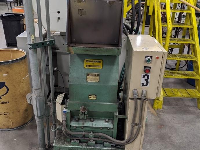used 7.5 hp ims lp-120-3 grinder