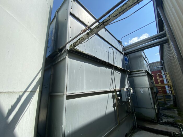 Used 140 Ton Baltimore Aircoil Cooling Tower 1 Used 140 Ton Baltimore Aircoil
