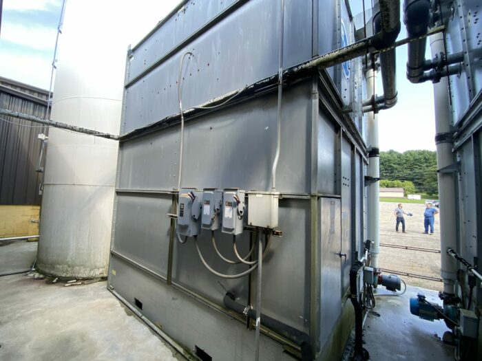 Used 140 Ton Baltimore Aircoil Cooling Tower 2 Used 140 Ton Baltimore Aircoil