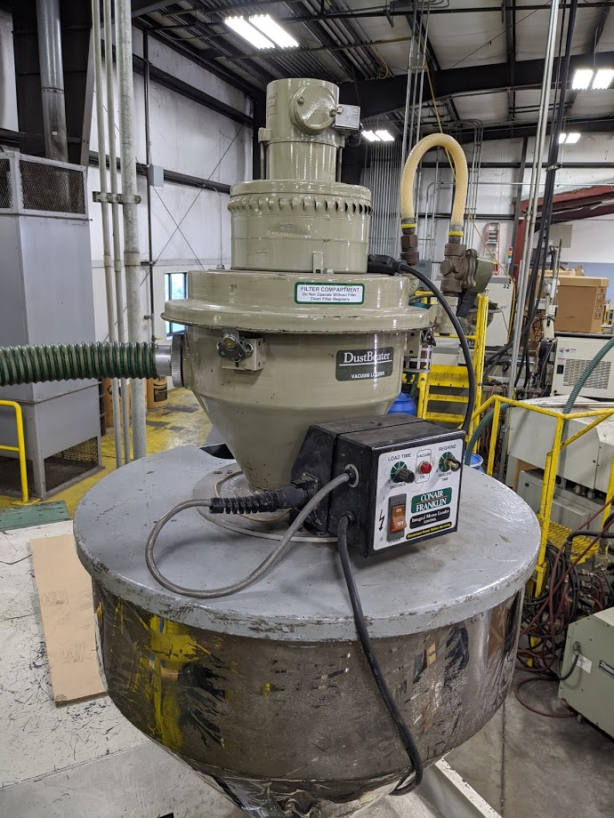 Used Conair CM1CC1SA00000 Vacuum Loader 1 Used Conair CM1CC1SA00000 Vacuum Loader