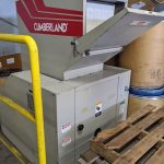 used cumberland grinder with blower & cyclone