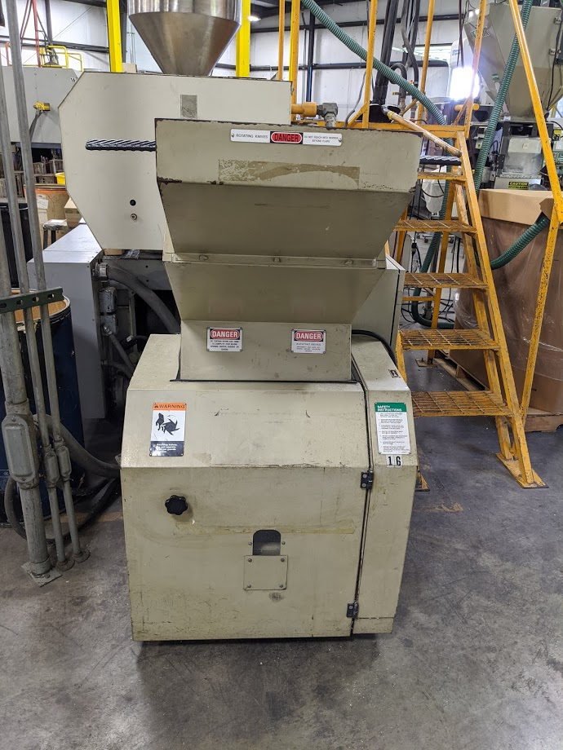 Used 15 HP Cumberland Grinder from 2000 2 Used 15 HP Cumberland Grinder