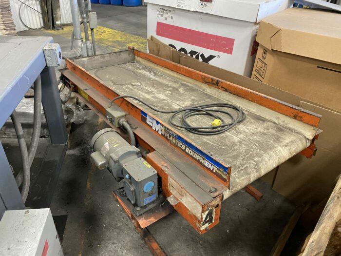 used emi 6clr-24 conveyor