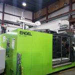 used 1000 ton engel duo 12060 wp injection molding machine