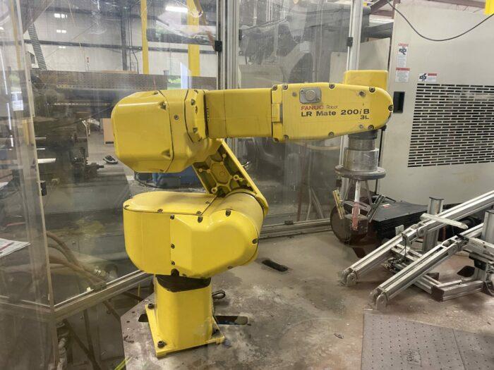 used fanuc lr mate 200i b 3l robot