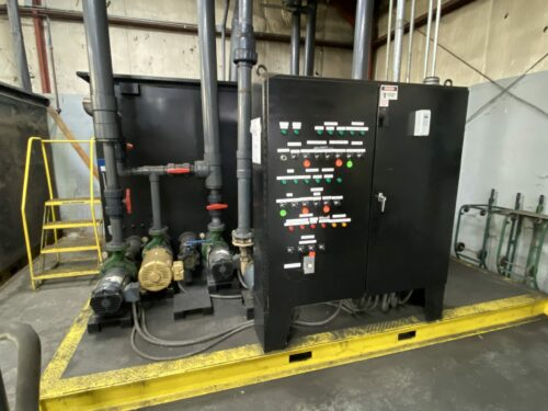 used pump skid for cooling towers