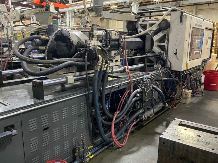 used 500 ton cincinnati vh500-54 injection molding machine