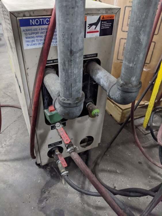 Used AEC TCU-100 Water Heater 3 Used AEC TCU-100 Water Heater