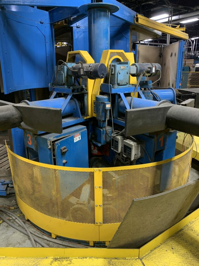 used fsp m-80 ati 3 arm rotational molding machine