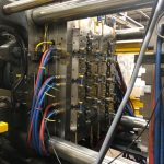 used hybrid injection molding machine for sale