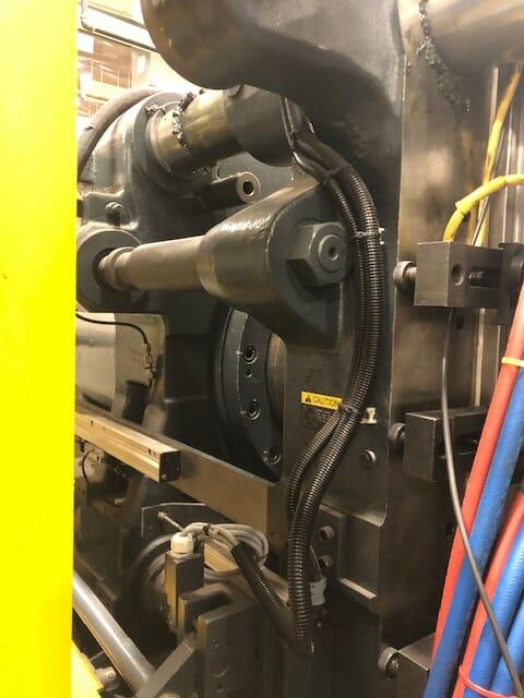 used hybrid injection molding machine