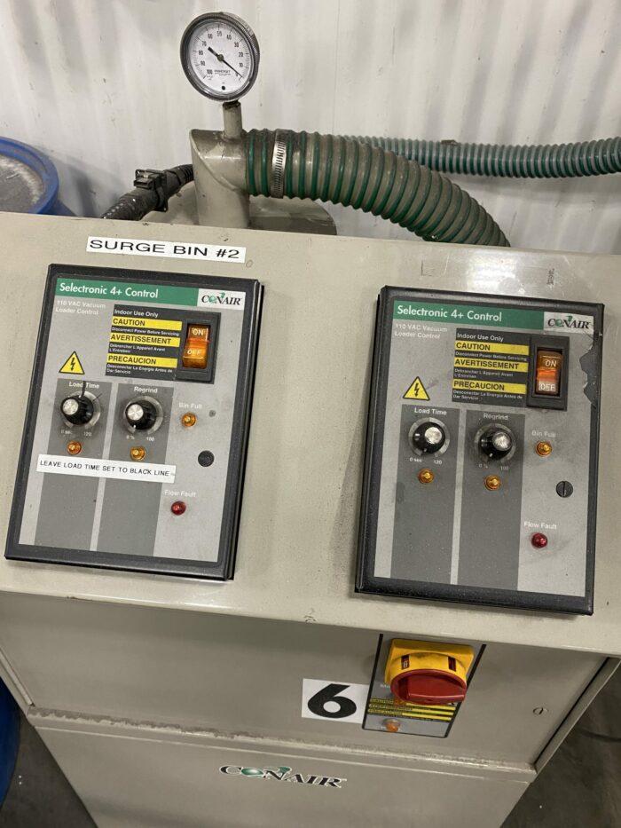 Used Conair PF4 Vacuum Pump Station 1 Used Conair PF4 Vacuum Pump Station