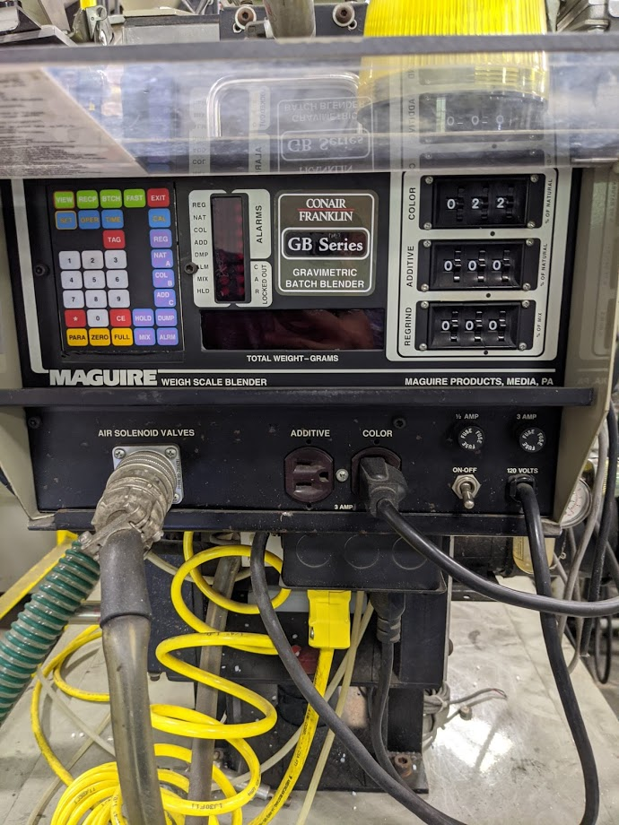 used conair 610011k1 gravimetric blender