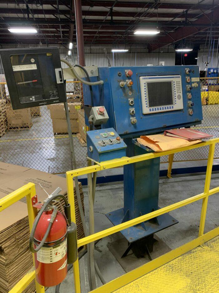 used fsp m-80 3 arm rotational molding machine