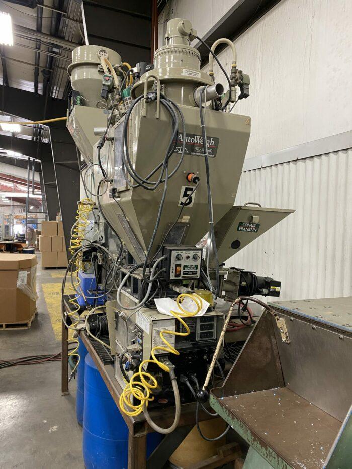 used conair gb-22sl gravimetric blender