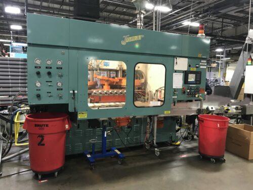 used 135 ton jomar blow molding machine