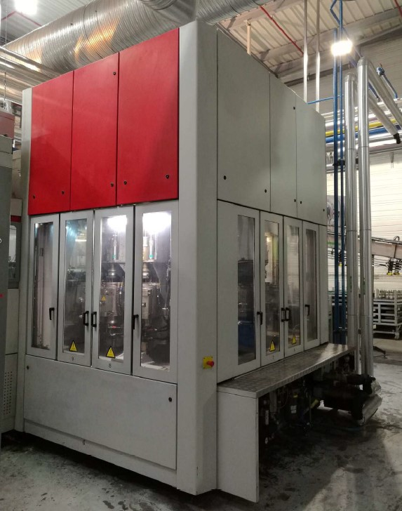 sidel sbo 14 series 2 stretch blow molding machine for sale