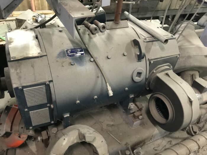 used sterling hp single screw extruder