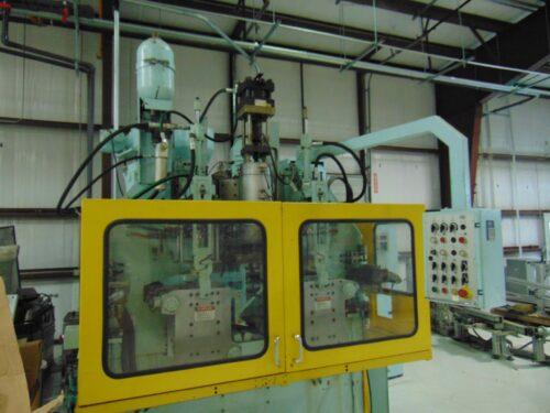 used bekum h121 3 layer extrusion blow molding machine
