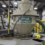 used conair db12sqc6mr vacuum loader