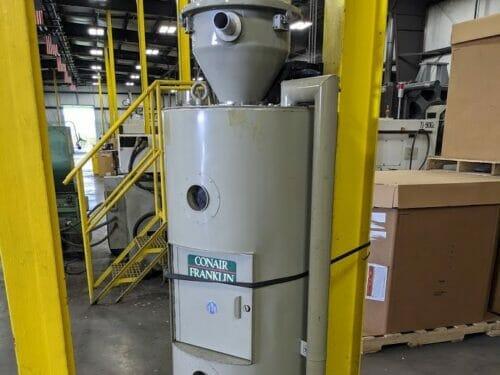 used conair 1805390100 200# drying hopper