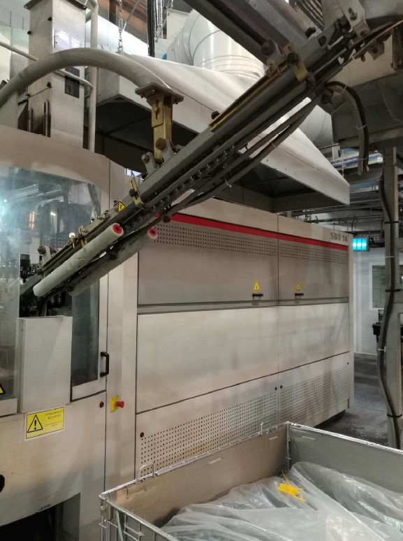 used sidel 14 blow molding machine fo sale