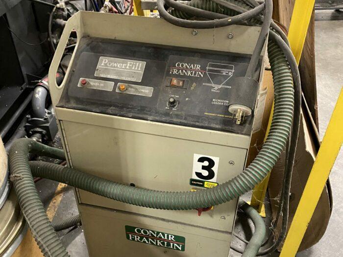 used conair vacuum pump station