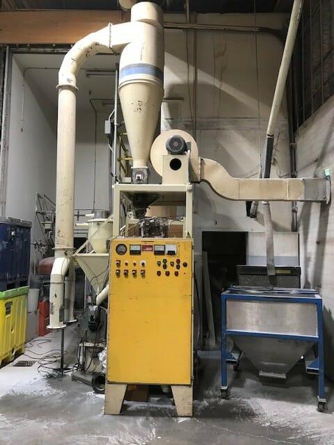 used wedco de-21 pulverizer
