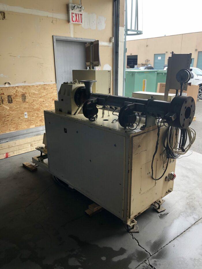 used 1.5 20 hp i-de 251 ld single screw extruder