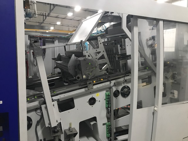 Used Gabler M60 Inline Form/Cut/Stack Thermoformer 1 Used Gabler M60 Inline