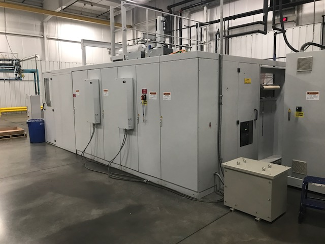 used gabler m60 inline form/cut/stack thermoformer
