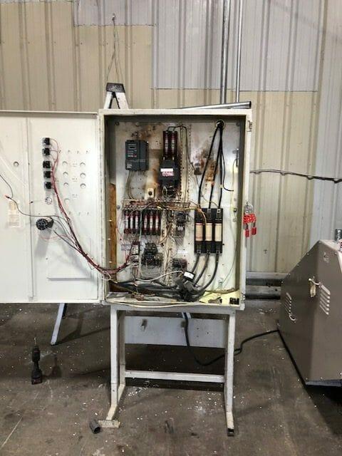 used mpg 2056 60 hp grinder