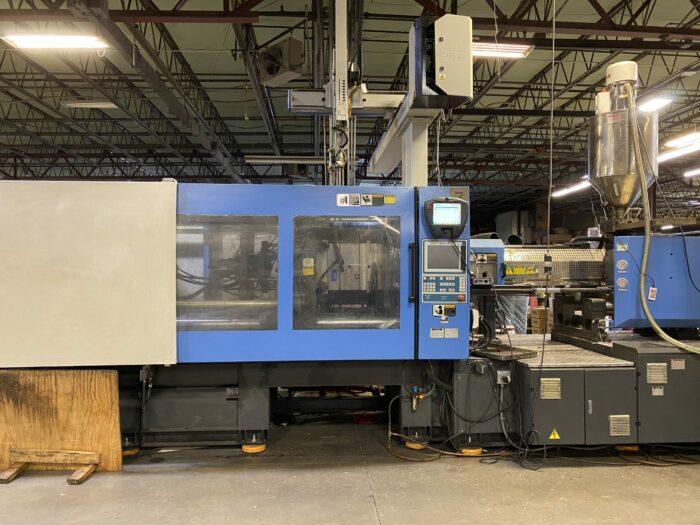 Used 596 Ton Haitian MA5300/4500 Injection Molding Machine 1 Used 596 Ton Haitian