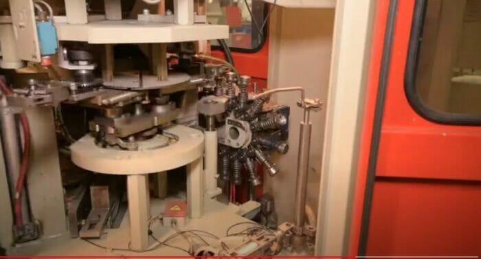 used 1999 sidel sbo 2/3 stretch blow molding machine