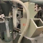 used 10 hp cumberland model gp1012 grinder w/ blower & cyclone