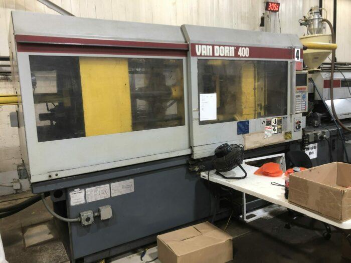 used 400 ton van dorn ht injection molding machine