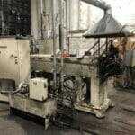 """Used 4.5"""" NRM Single Screw Extruder with Complete Gala 6 Pelletizing Line"""