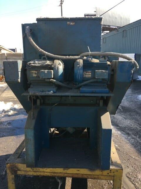 used 40 hp model 1229 nelmor grinder