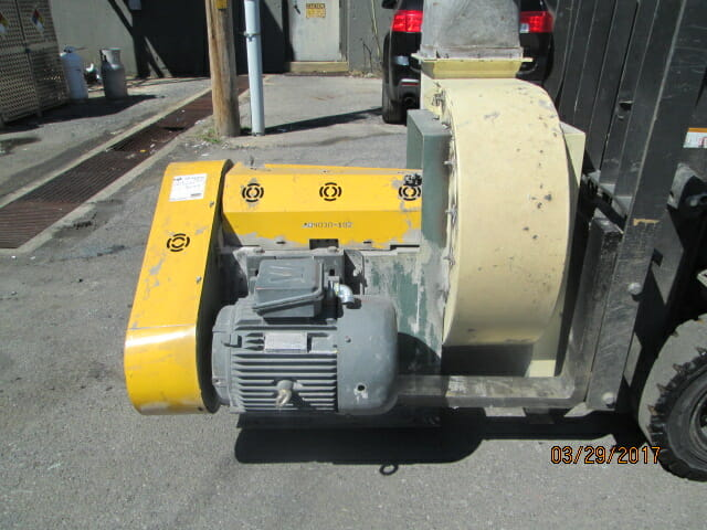 used blower cyclone combo