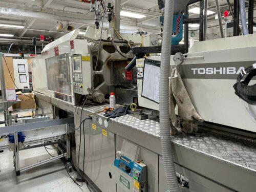 used 250 ton toshiba isg250nv10-10b injection molding machine