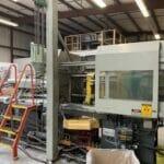 used 85 ton van dorn ht injection molding machine
