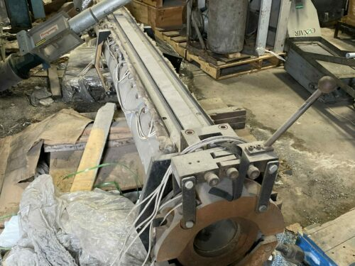 used american kuhne extruder screw & barrel