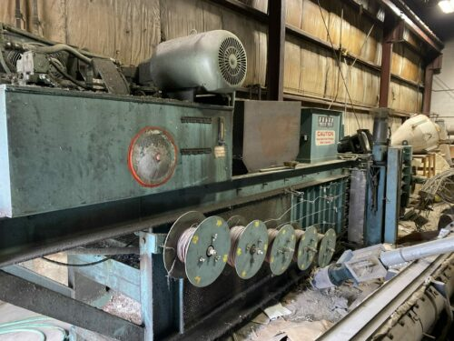 used selco products model hs0-107a baler