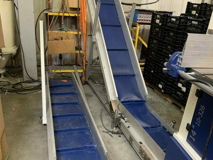 used hfa incline conveyor